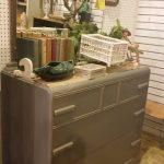 GREY Chalk Paint Dresser ISLE 3 b