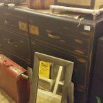 BLACK Chalkpaint Vintage Dresser