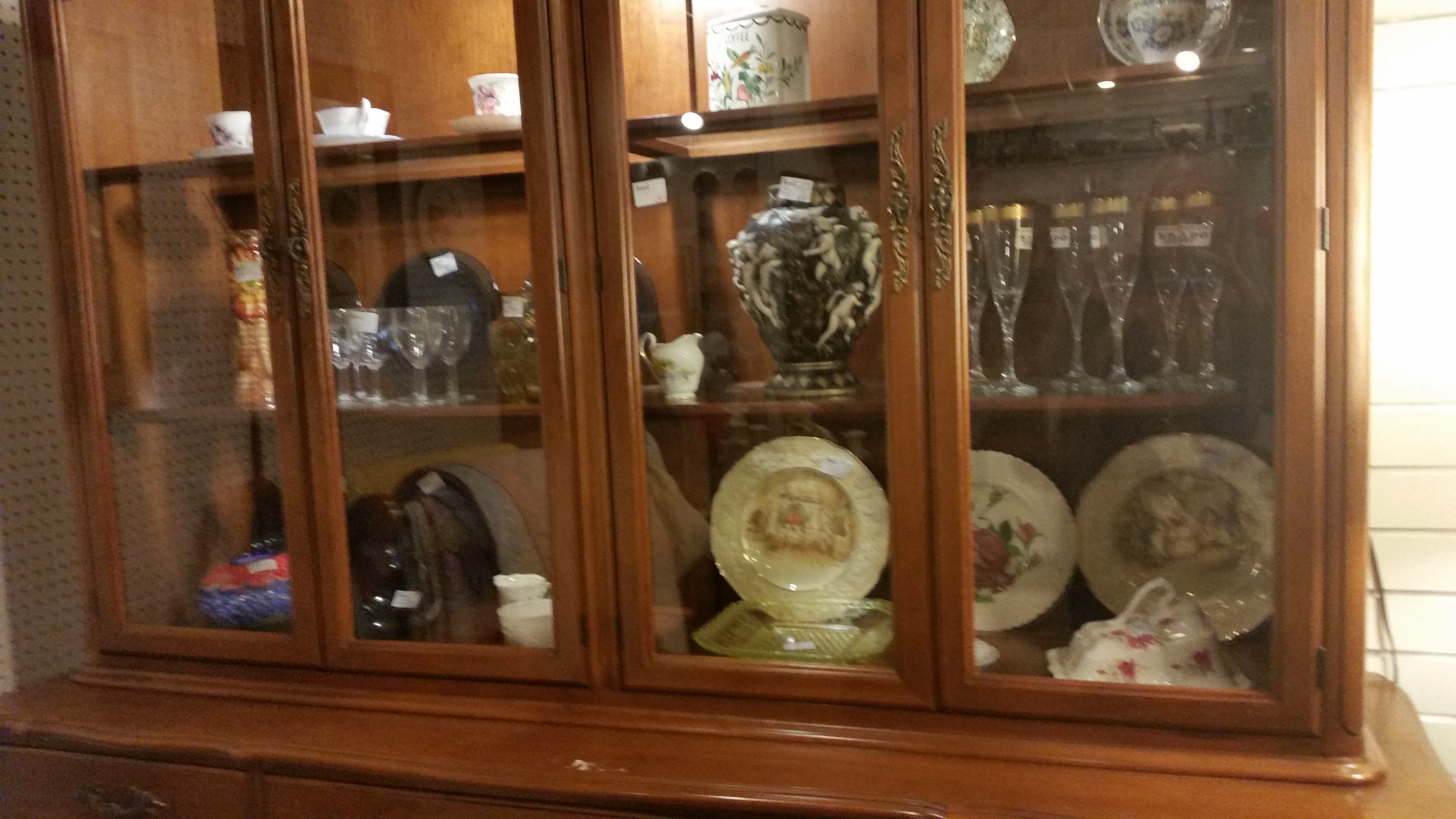 Gibbard China Cabinet-Solid Wood Strathroy Antique Mall ...