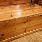 Solid Pine Restored antique BLANKET BOX only $ 249.00. Great coffee table.